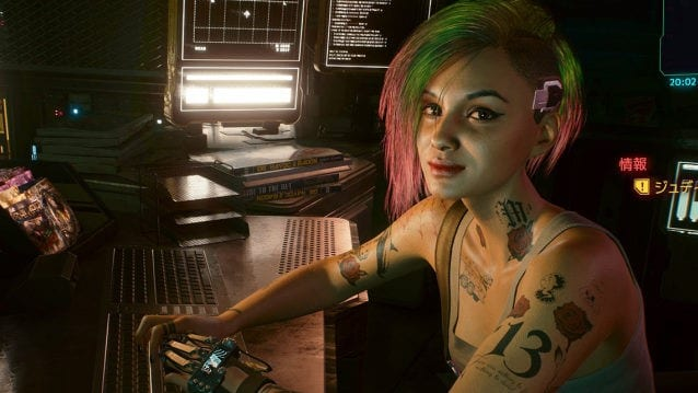 Crédits de fin de jeu Cyberpunk 2077