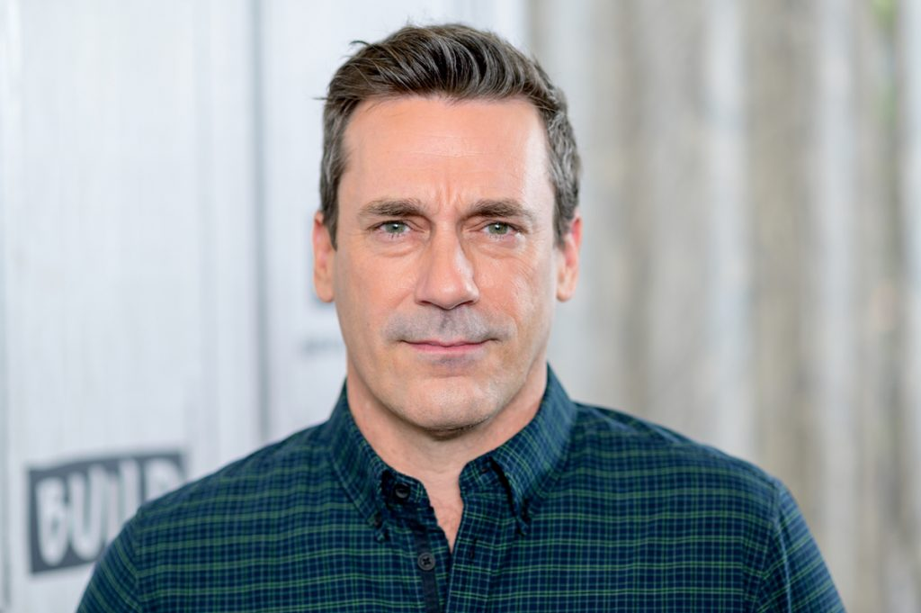 "Jon Hamm discute de ""Lucy in the Sky"" avec la série Build au Build Studio le 2 octobre 2019 à New York."