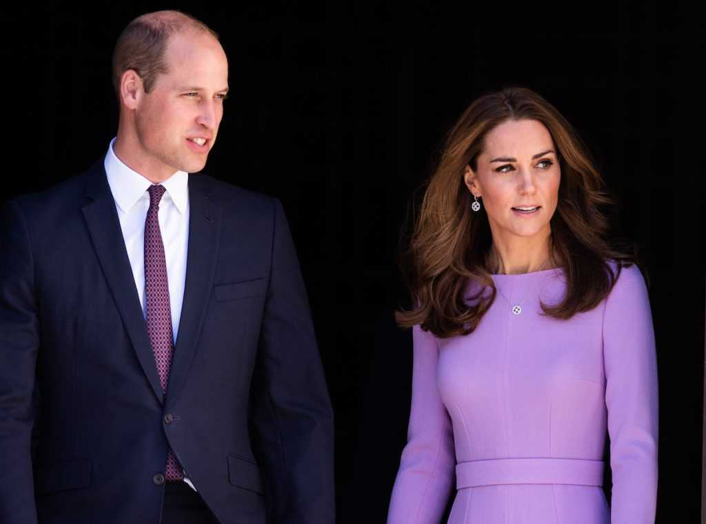 Catherine, duchesse de Cambridge et le prince William, duc de Cambridge