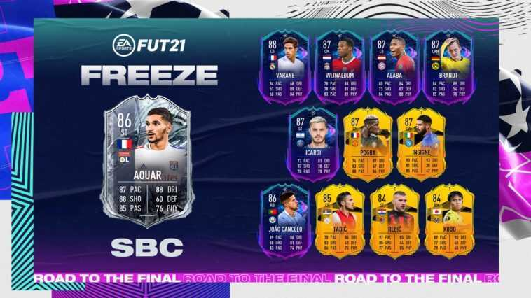 Should You Do The Houssem Aouar Freeze SBC In FIFA 21? An Unexpectedly GOOD SBC From EA