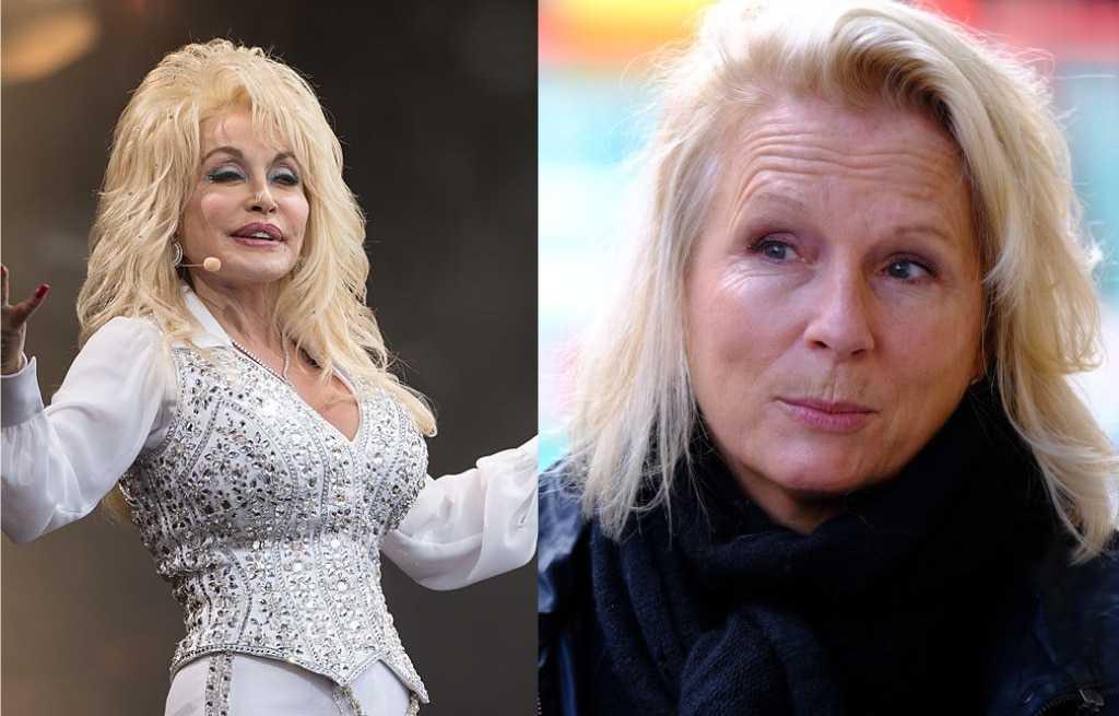 Dolly Parton A Montré à Jennifer Saunders Ses `` Beaux