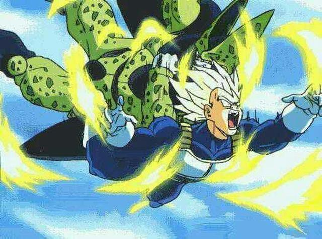 Vegeta vs Cell (Photo: Toei Animation)