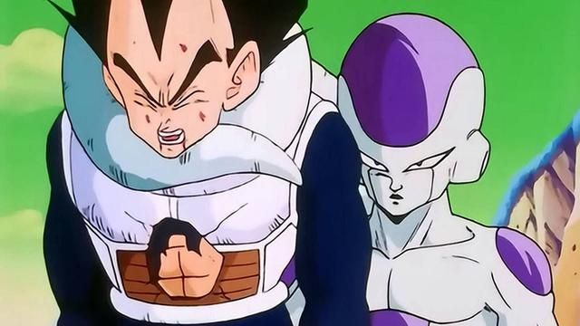 Vegeta vs Freeza (Photo: Toei Animation)
