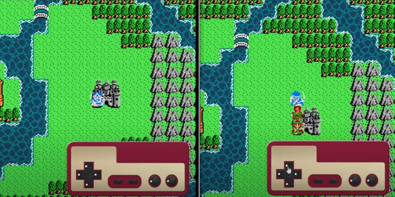 Dragon Quest 3 Reproduced Using Excel Spreadsheet Software