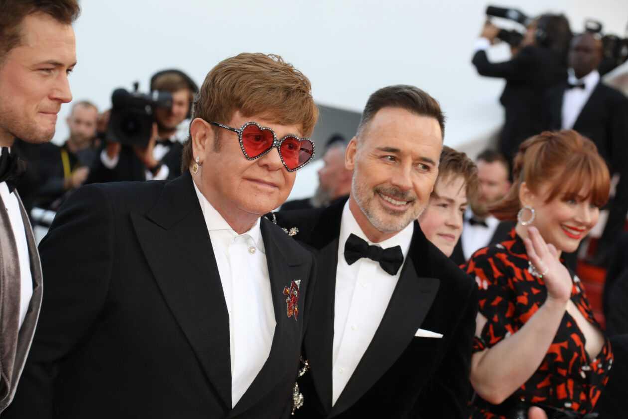 Elton John Et Son Mari David Furnish Célèbrent Leur 15e