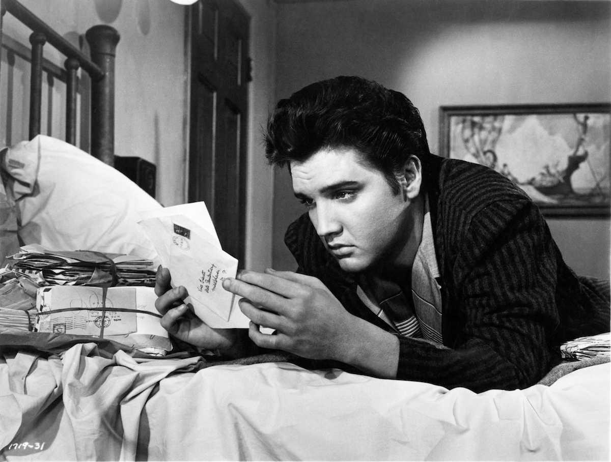 Elvis Presley dans Jailhouse Rock