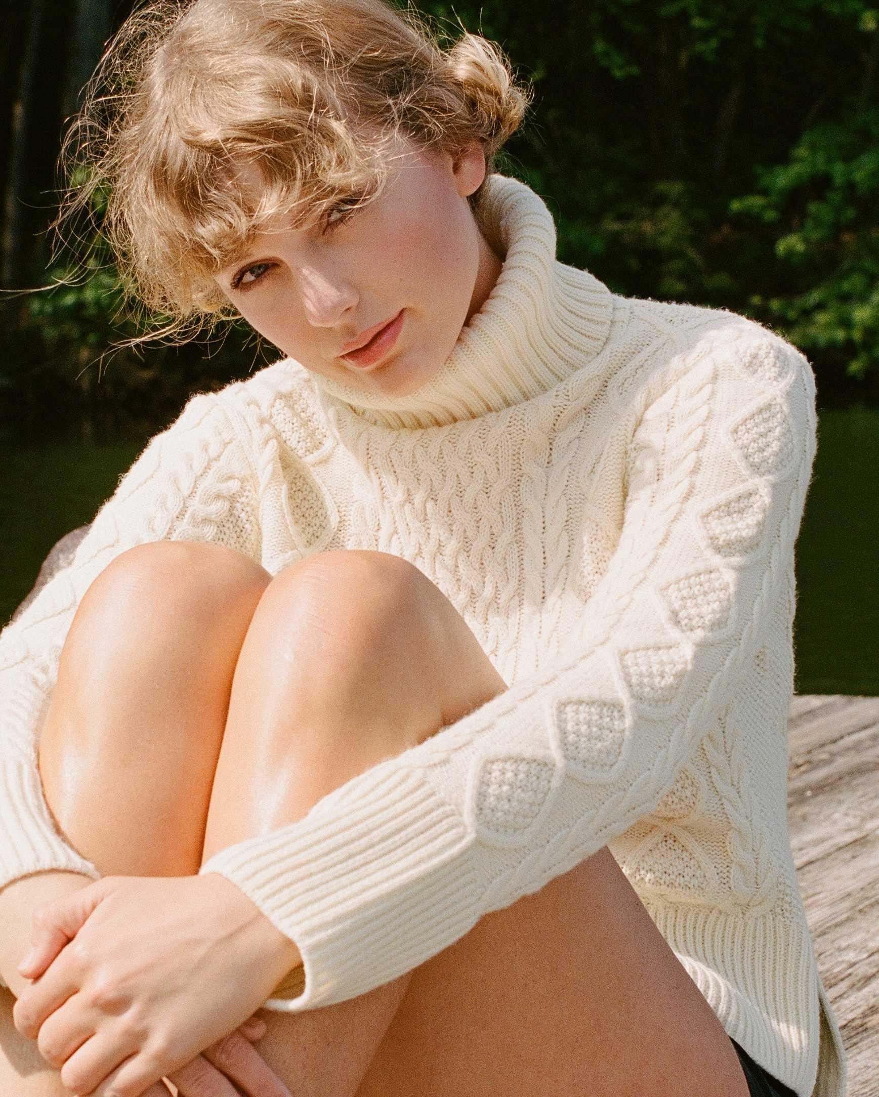 Image promotionnelle de Taylor Swift Folklore