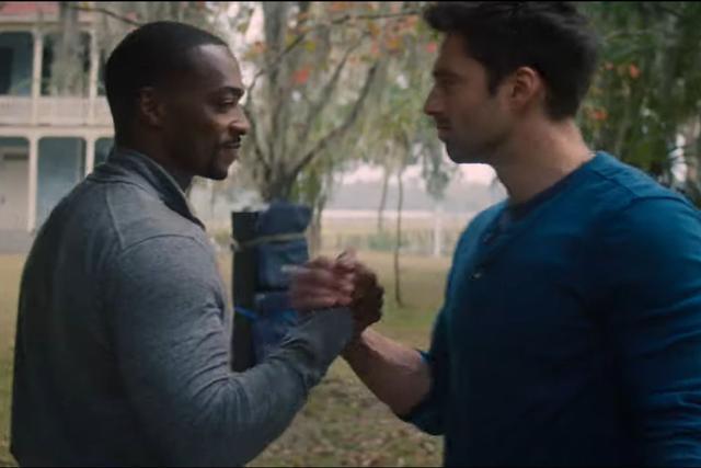 "Anthony Mackie et Sebastian Stan sont les stars de ""The Falcon and the Winter Soldier"" (Photo: Marvel / Disney)"