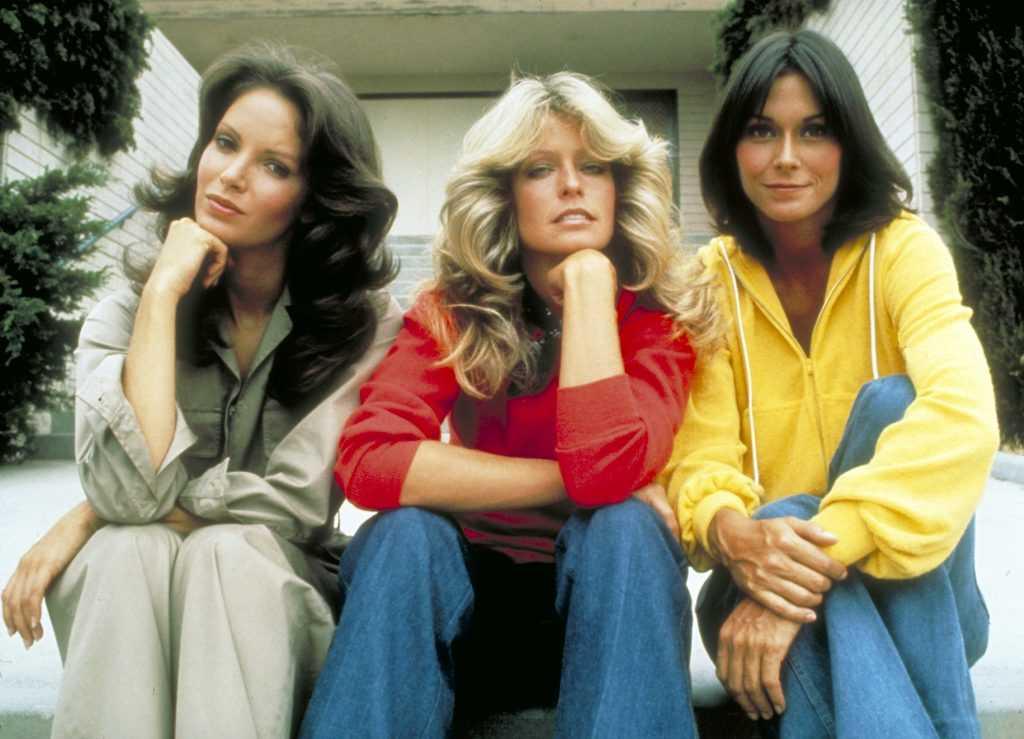 Jaclyn Smith, Farrah Fawcett et Kate Jackson de 'Charlie's Angels'