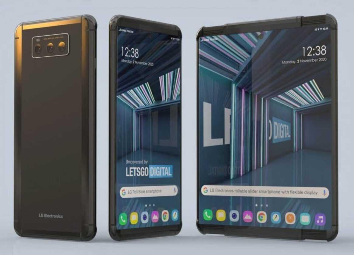 possible LG avec écran enroulable
