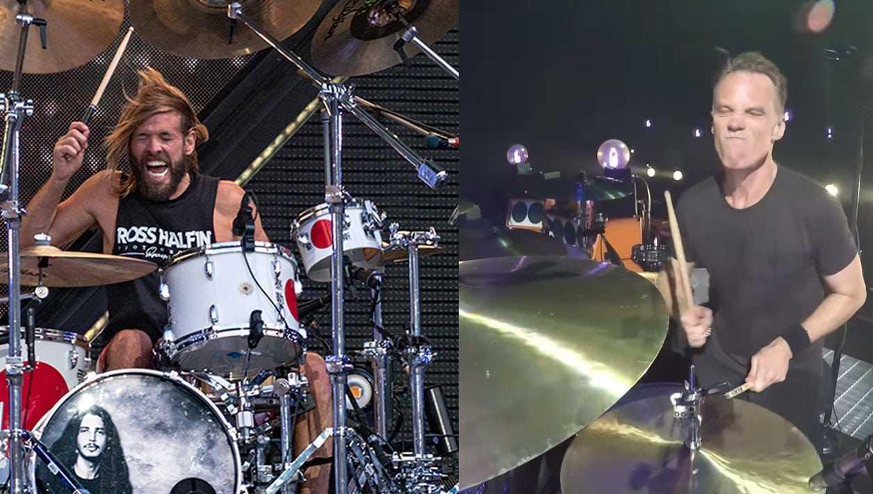Foo Fighters Et Les Batteurs De Perl Jam Forment Leur