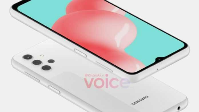 Galaxy A32 5g, Images De Rendu Cao Fuites Avec Android