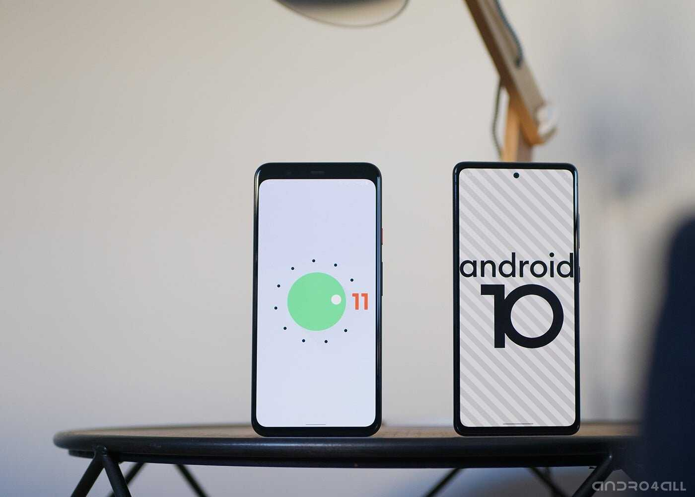 Versions d'Android