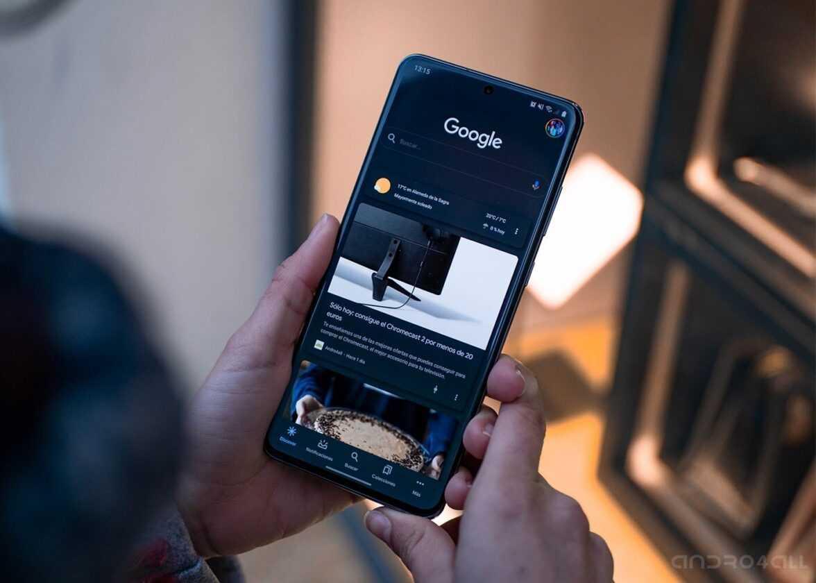 Recherche Google pour mobile