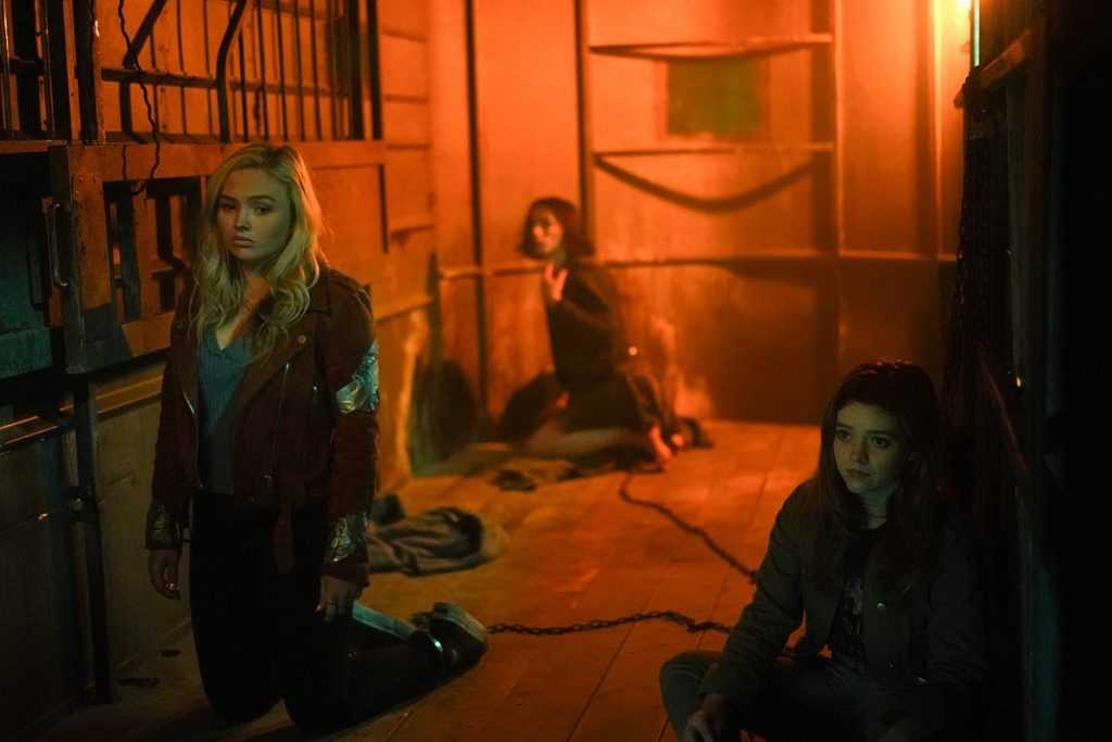 Natalie Alyn Lind, Jesse James Keitel, and Jade Pettyjohn in