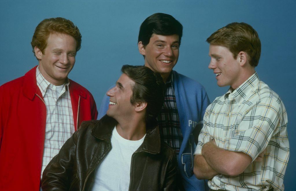 Le casting de 'Happy Days', 1975