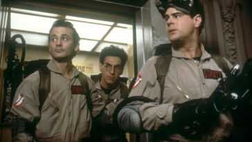 Bill Murray Harold Ramis and Dan Aykroyd