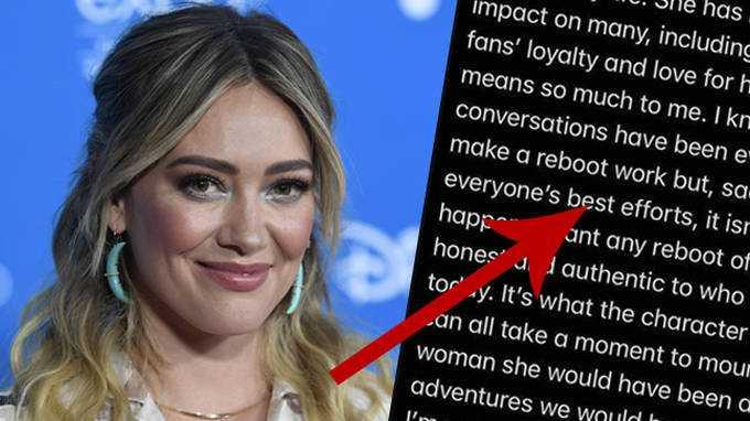 Hilary Duff Confirme Que Le Redémarrage De Lizzie Mcguire A