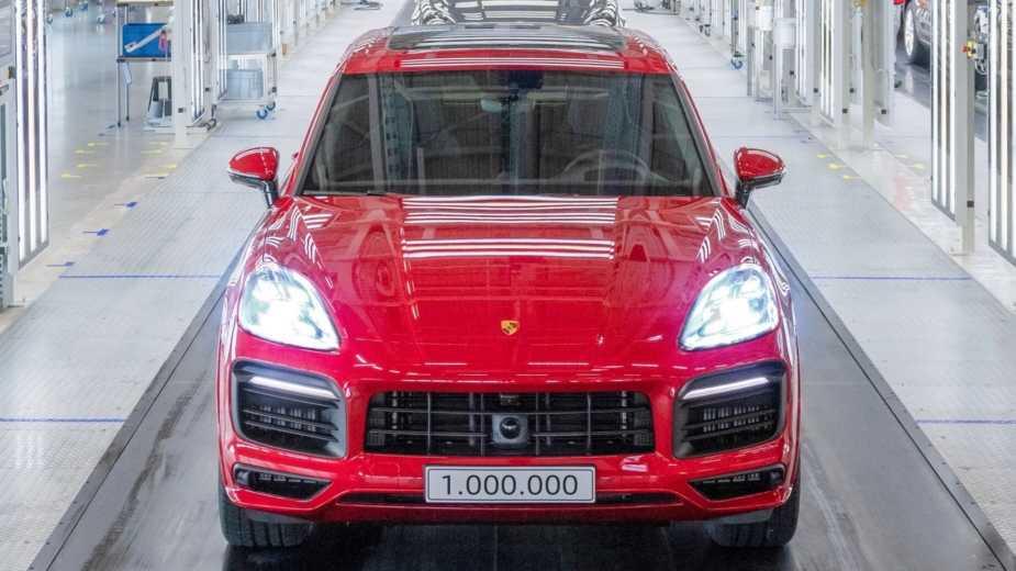 Historique. Un Million D'unités Porsche Cayenne Ont été Produites