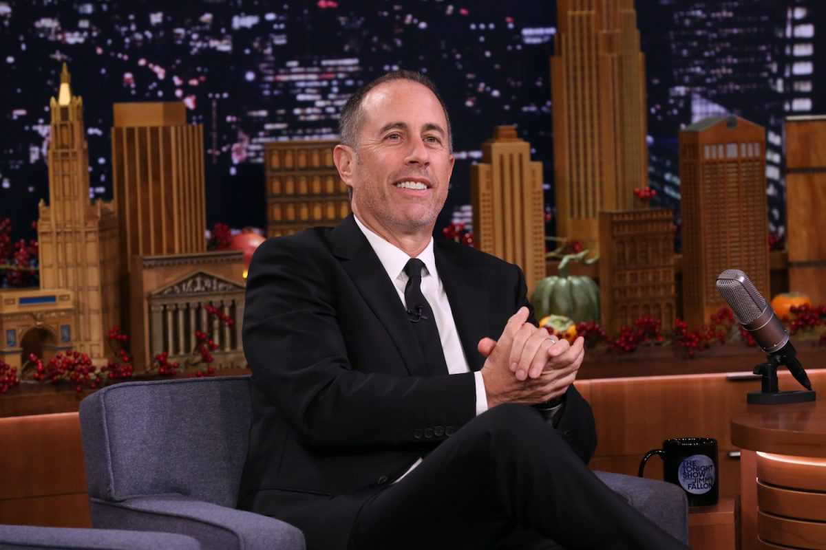 Jerry Seinfeld sur The Tonight Show avec Jimmy Fallon