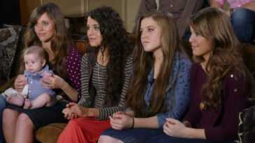 Jessa, Jinger, Joy-Anna, and Jana Duggar