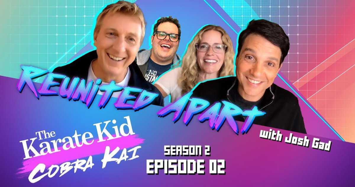 Karate Kid Cast Se Réunit Avec Josh Gad Pour Parler