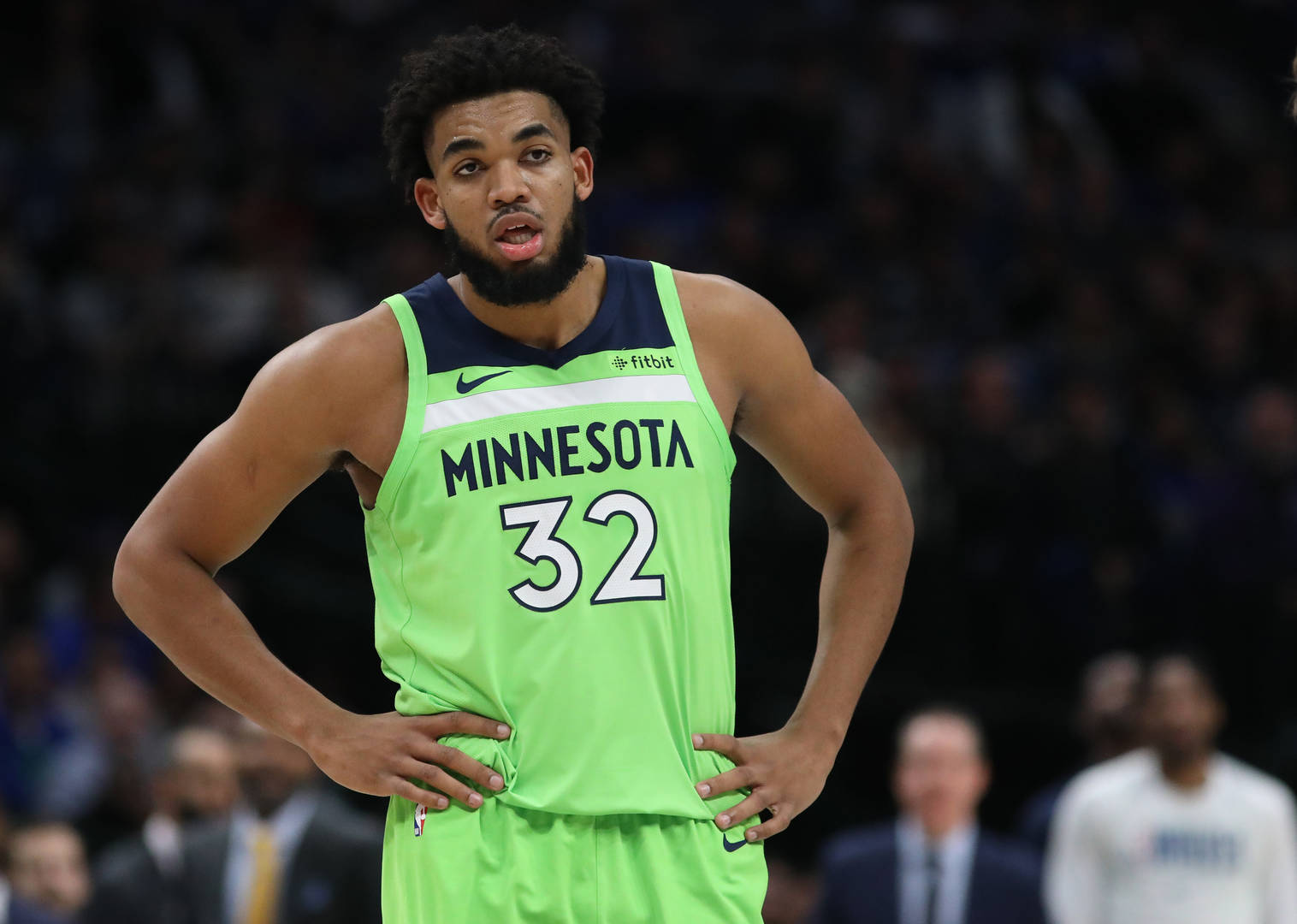 Karl-Anthony Towns, blessures