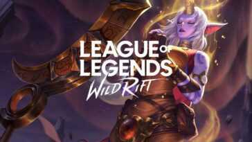 League of Legends Wild Rift pour mobile.