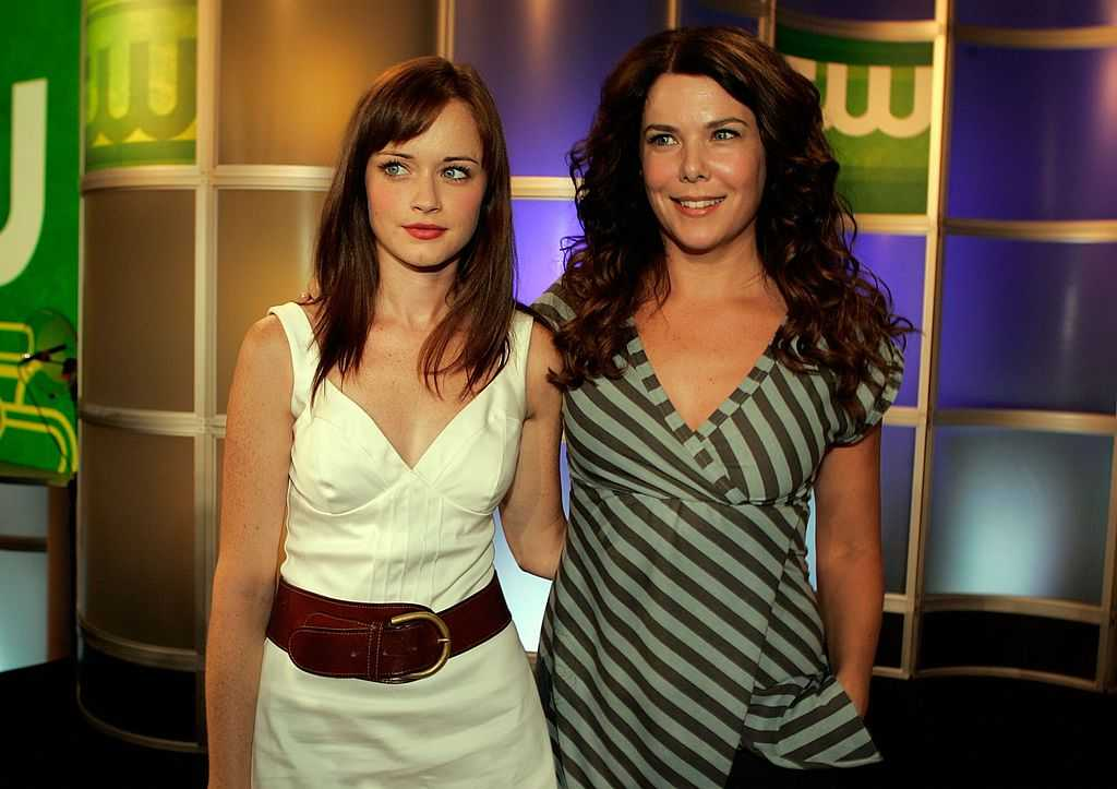 Alexis Bledel and Lauren Graham from Gilmore Girls