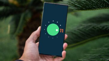 Samsung mobile avec Android 11