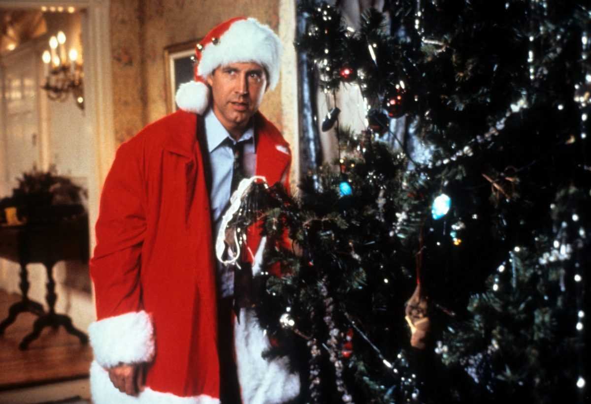 Chevy Chase as Clark Griswold in a scene from