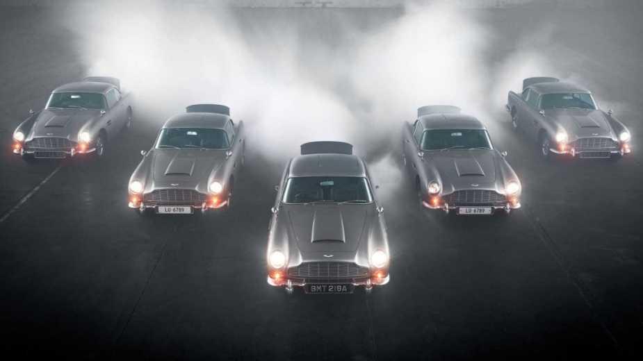 La Première Aston Martin Db5 Goldfinger A Déjà Tiré Ses