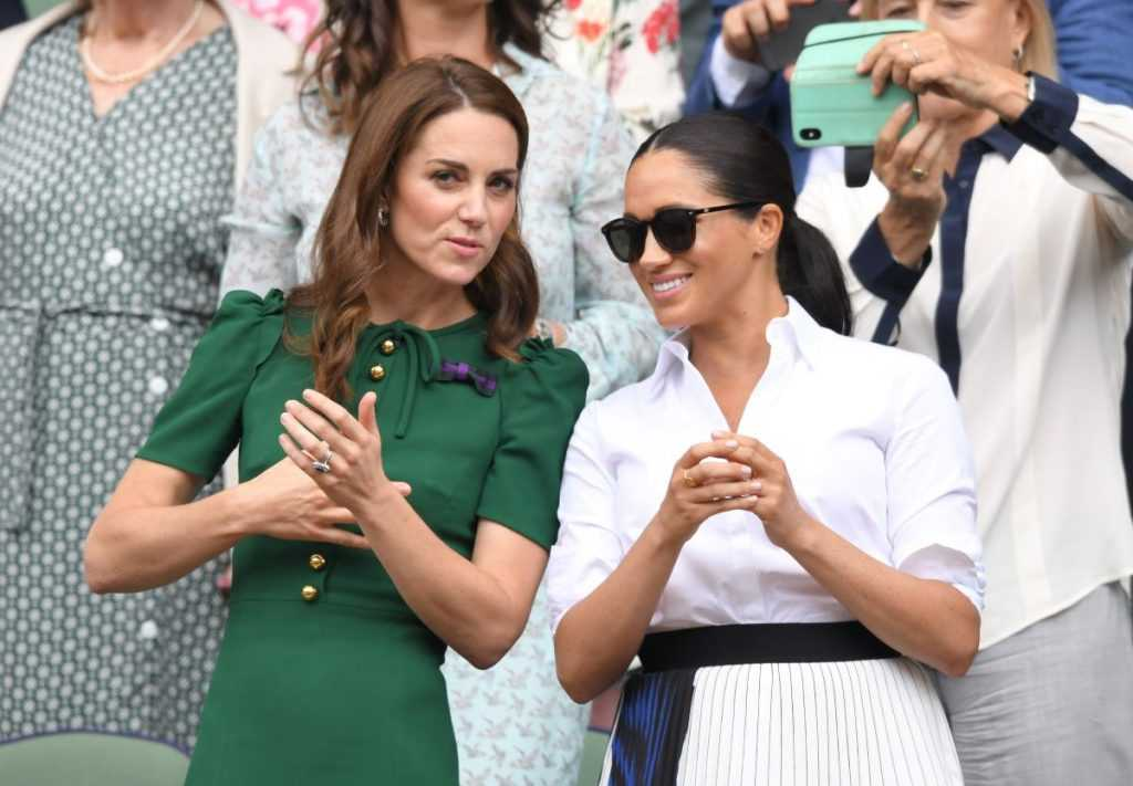 Catherine, Duchess of Cambridge and Meghan, Duchess of Sussex