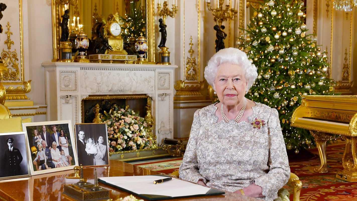 La Reine D'angleterre Diffusera Son Discours De Noël Sur Les