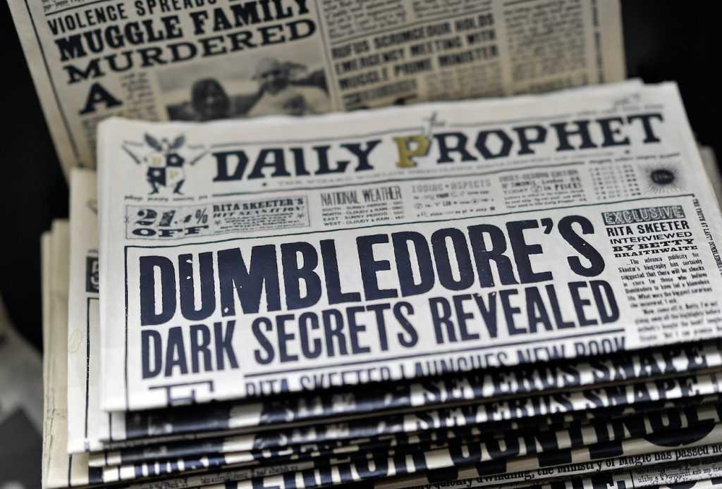Harry Potter La Gazette du Sorcier