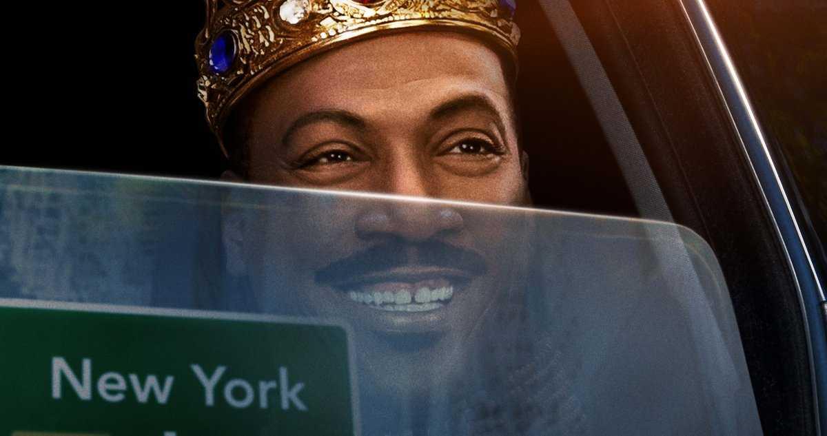 L'affiche Coming 2 America Ramène Le Roi Akeem D'eddie Murphy