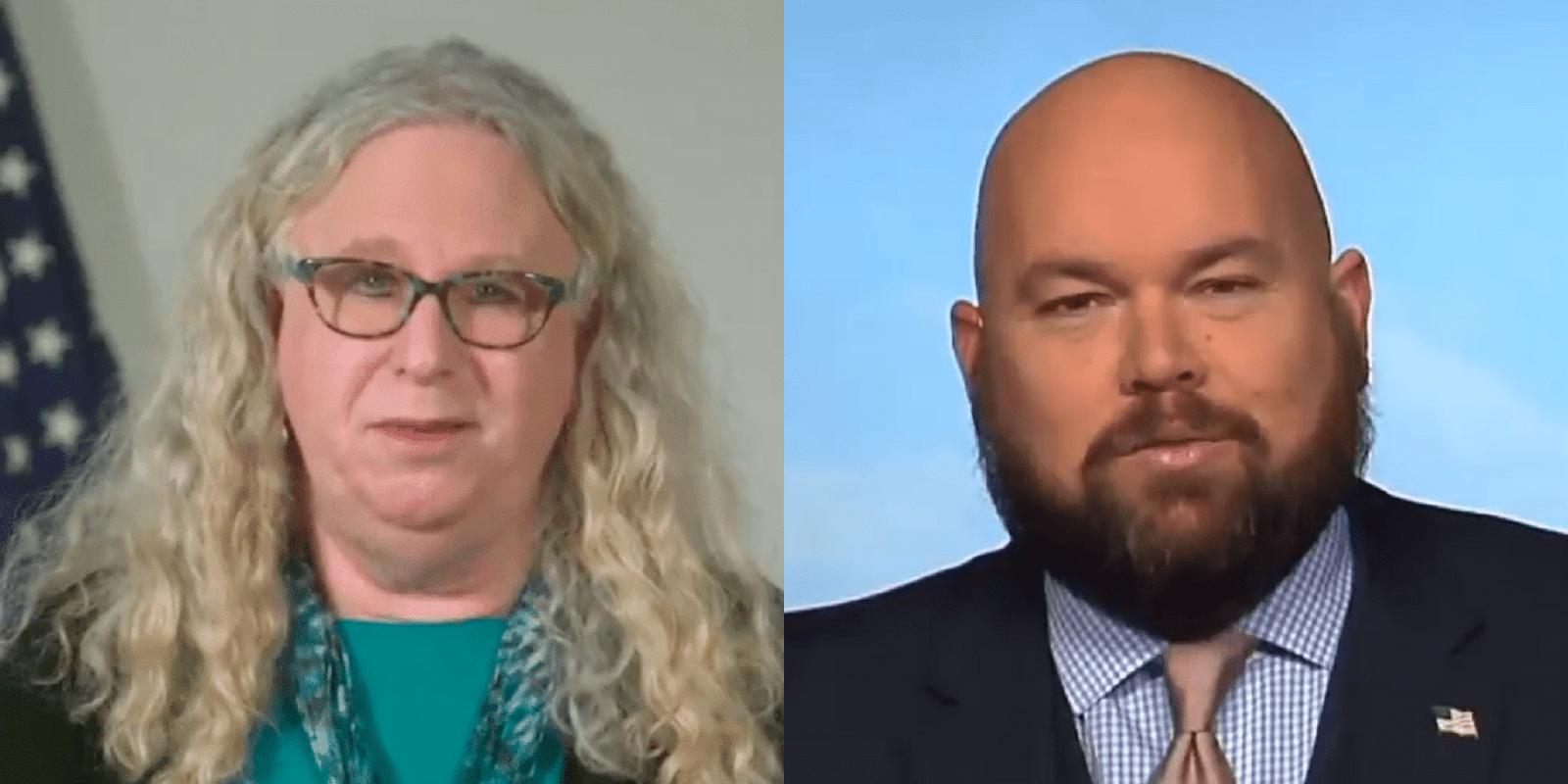 L'animatrice De Radio Soutenant Trump Cible Le Dr Rachel Levine