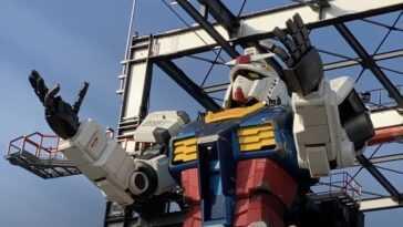 Le Gundam japonais grandeur nature est prêt: il est déjà en mouvement et peut être visité à partir du 19 décembre prochain