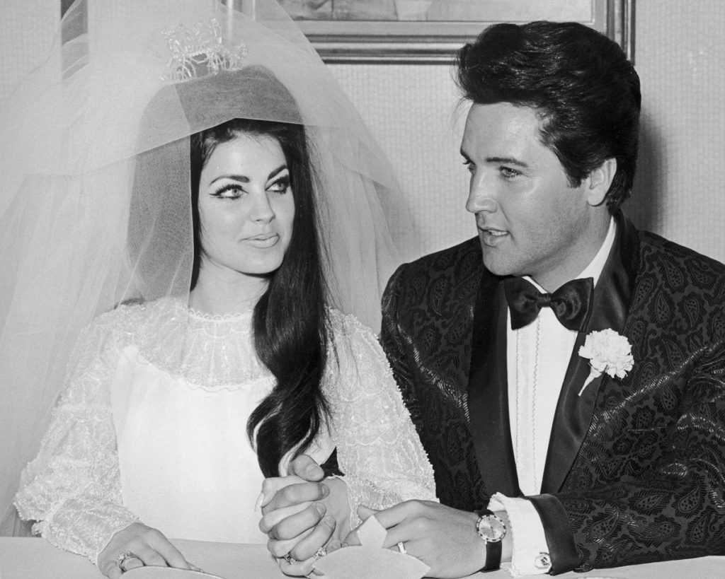 Elvis et Priscilla Presley