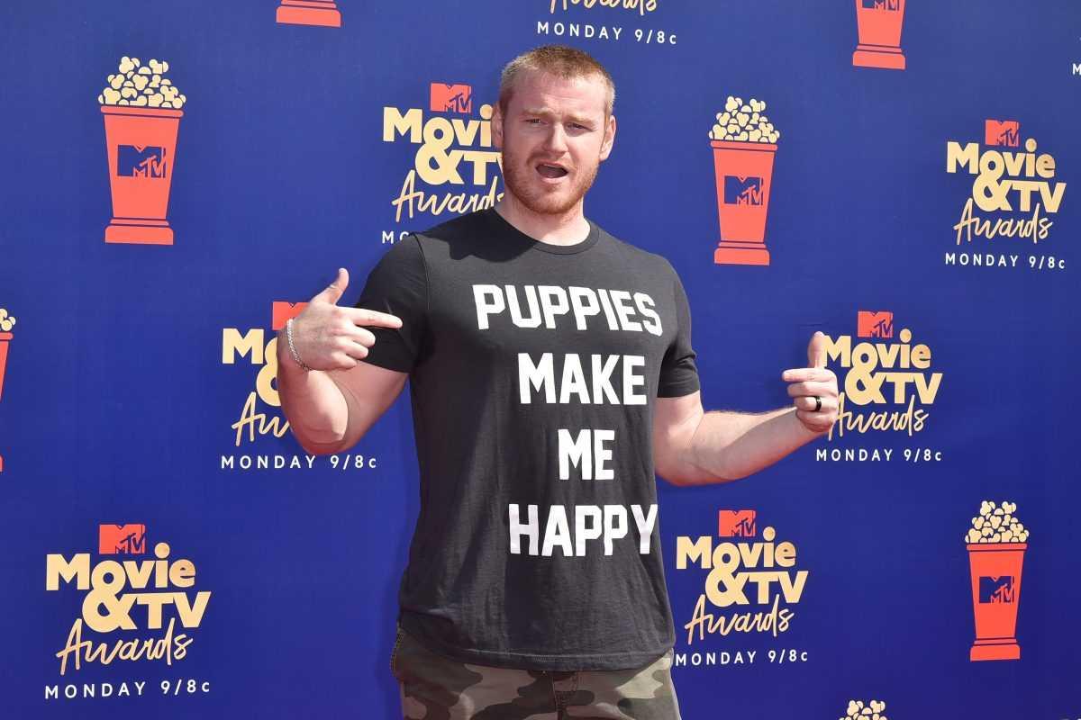 Wes Bergmann attends the 2019 MTV Movie & TV Awards