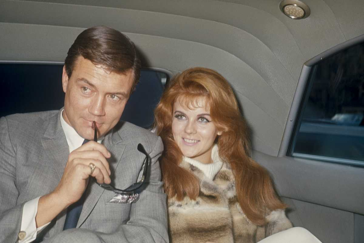 Roger Smith and Ann-Margret in 1970