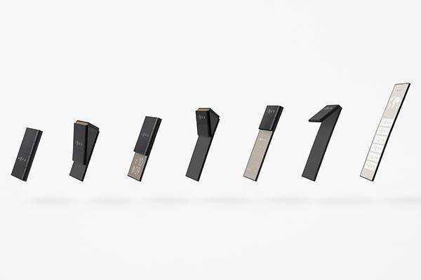 Le Nouveau Concept De Smartphone D'oppos Dispose De Trois écrans