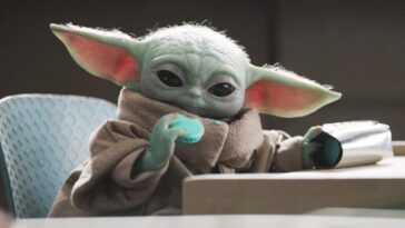 Le Secret Derrière Les Biscuits Bleus De Baby Yoda Révélés