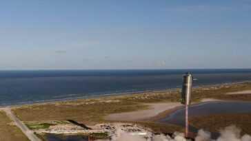 Le Site De Lancement De Spacex Au Texas Fait L'objet