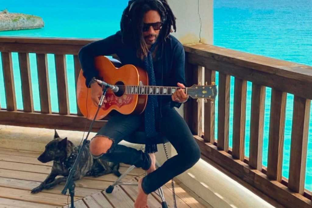 Lenny Kravitz aux Bahamas |  Banque de photos NBC / NBCU via Getty Images
