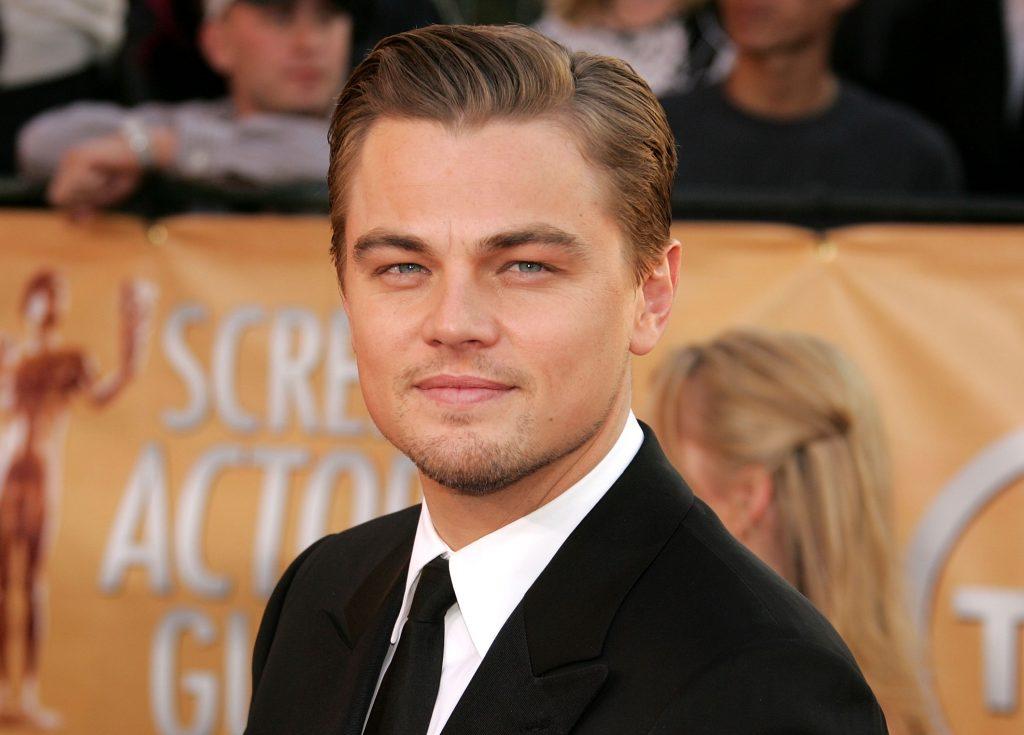 Leonardo DiCaprio en costume