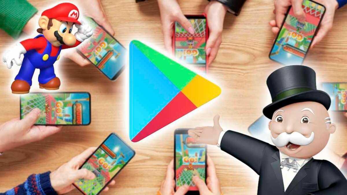 Téléphones Android jouant