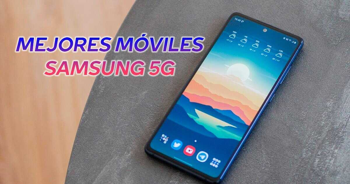 Téléphones Samsung 5G