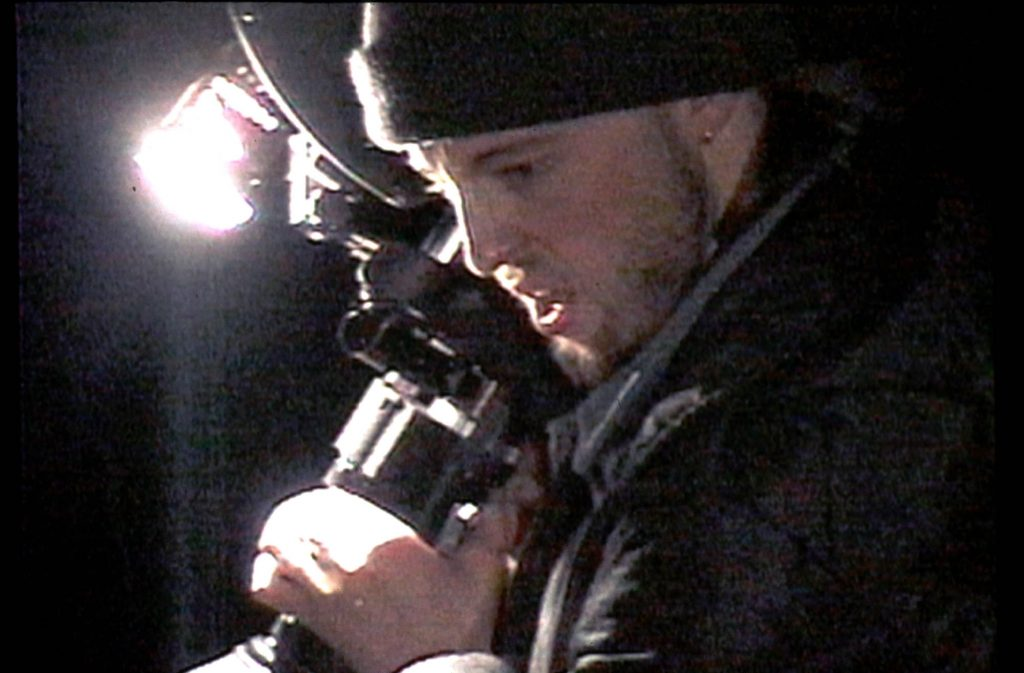 Joshua Leonard dans 'The Blair Witch Project'