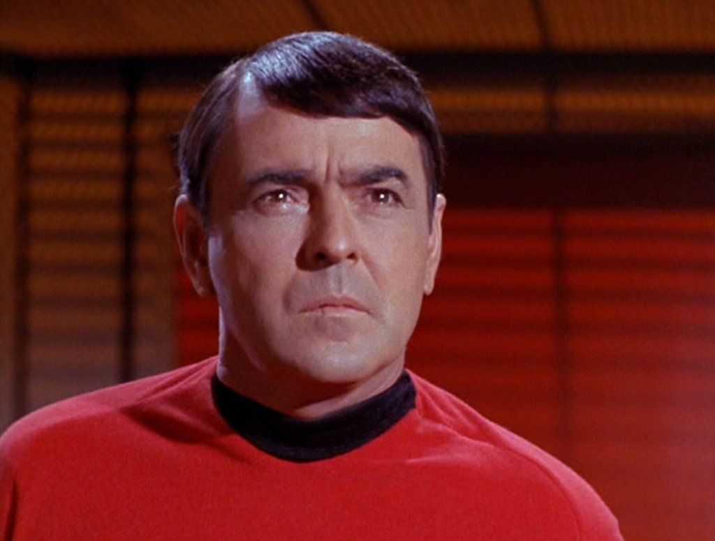 Les Cendres De Scotty De Star Trek Reposent Sur La